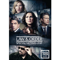 Law & Order: Special Victims Unit - Season 18 (Region 1 DVD)