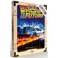 Back to The Future - WoodArts 3D Print (30 x 40 cm)