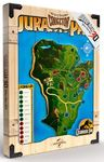 Jurassic Park - Park Map WoodArts 3D Print (30 x 40 cm)