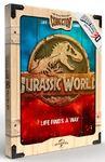 Jurassic Park - Life Finds A Way WoodArts 3D Print (30 x 40 cm)