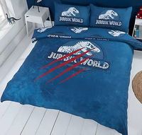 Jurassic World - Claws Duvet Cover and Pillowcase Set (Double)