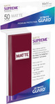 Ultimate Guard - Supreme Sleeves Standard Size - Matte Burgundy (50 Sleeves)
