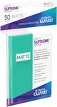 Ultimate Guard - Supreme Sleeves Standard Size - Matte Turquoise (50 Sleeves)