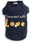 Dog's Life - Crowned With Love Tee - Blue (X-Small)