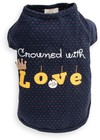 Dog's Life - Crowned With Love Tee - Blue (Medium)