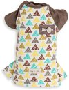 Dog's Life - Triangular Geometric Tee - Brown (Small)