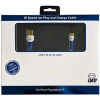 IMP (4m) Braided Fast Charge & Play Cable - Single Pack (PS5)