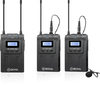 Boya UHF Wireless Dual Microphone System