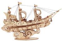Robotime - 3D Wooden Puzzle - Sailling Ship (118 Pieces) - Cover