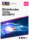 Bitdefender Total Security Complete Anti-malware Protection: Windows macOS Android and iOS - 5 Device 1 Year (ESD)