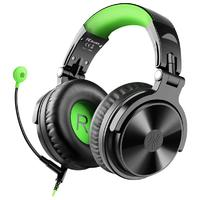 OneOdio Pro-G Wired Gaming Headphones With Mic (Black & Green)