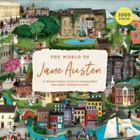 World of Jane Austen Puzzle (1000 Pieces)