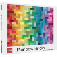 LEGO Rainbow Bricks Puzzle (1000 Pieces)
