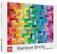 LEGO Rainbow Bricks Puzzle (1000 Pieces)