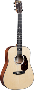Martin DJR-10E Junior Series Acoustic Guitar with Gig Bag (Spruce)