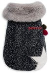 Dog's Life - Woolly Cape with Star and Pompom - Blue (X-Small)