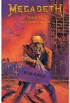 Megadeth - Peace Sells Textile Poster