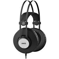 AKG K72 Closed Back Studio Monitor Headphones (Black & Silver)