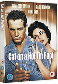 Cat On a Hot Tin Roof (DVD) - Cover