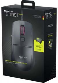 ROCCAT - Burst Core Gaming Optical Wired Mouse - Black