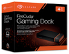 Seagate Firecuda Gaming Dock 4TB HDD Storage Built-In; Expandable M/2 Nvme SSD Slot; Single Thunderbolt 3 Connection