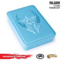 Gale Force 9 - Dungeons & Dragons - Spellcard Tins - Paladin Token Set (Role Playing Game) - Cover
