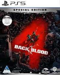 Back 4 Blood - Steelbook Special Edition (PS5) - Cover