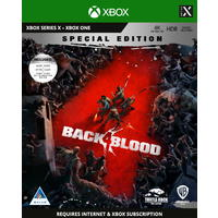 Back 4 Blood - Steelbook Special Edition - Internet connection required (Xbox Series X / Xbox One)