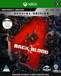 Back 4 Blood - Steelbook Special Edition - Internet connection required (Xbox Series X / Xbox One) - Cover