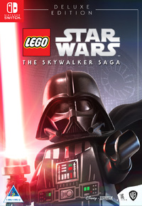 LEGO Star Wars: The Skywalker Saga - Deluxe Edition (Nintendo Switch) - Cover