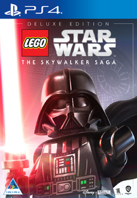 LEGO Star Wars: The Skywalker Saga - Deluxe Edition (PS4) - Cover