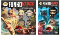 Funko Pop! Funkoverse Strategy Game - Jurassic Park Base Game & Expansion Bundle (Board Game)