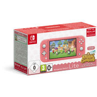 Nintendo - Switch Lite Console (Coral) Animal Crossing: New Horizons Pack + NSO 3 months (Limited)