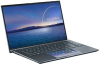 ASUS - ZenBook X435EG-I716512G0R i7-1165G7 16GB 512Gb SSD nVidia GeForce MX450 2GB Win 10 Pro 14 inch Touch Notebook (11th Gen) - Cover