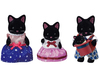 Sylvanian Families - Midnight Cat Family