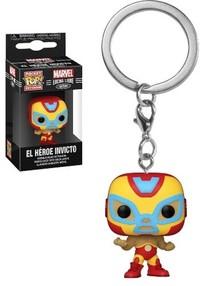 Funko Pop! Keychain - Marvel Luchadores - Iron Man - Cover
