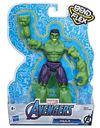 Avengers - Bend and Flex Hulk Action Figure