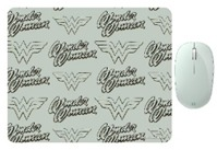 Microsoft - Bluetooth Mouse with DC Comics Wonder Woman Mouse Pad 2 - Mint