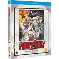 Fairy Tail: Collection 10 (Blu-ray / Box Set)