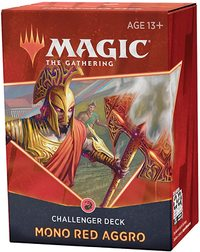 Magic: The Gathering - Challenger Deck 2021 - Mono Red Aggro (Trading Card Game) - Cover