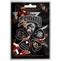 Motorhead - Lemmy Stone Deaf Forever Plectrums (Set of 5)