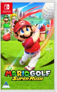 Mario Golf: Super Rush (Nintendo Switch) - Cover