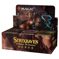 Magic: The Gathering - Strixhaven: School of Mages Single Draft Booster (Trading Card Game)