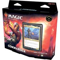 Magic: The Gathering - Commander Legends Commander Deck - Arm for Battle (Trading Card Game)