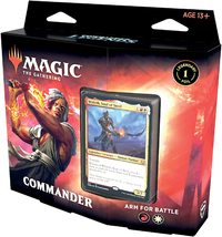 Magic: The Gathering - Commander Legends Commander Deck - Arm for Battle (Trading Card Game)