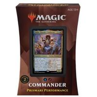Magic: The Gathering - Strixhaven: School of Mages Commander Deck - Prismari Performance (Trading Card Game)