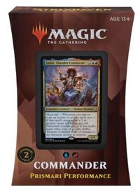 Magic: The Gathering - Strixhaven: School of Mages Commander Deck - Prismari Performance (Trading Card Game) - Cover