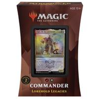 Magic: The Gathering - Strixhaven: School of Mages Commander Deck - Lorehold Legacies (Trading Card Game)