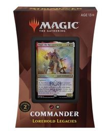 Magic: The Gathering - Strixhaven: School of Mages Commander Deck - Lorehold Legacies (Trading Card Game) - Cover