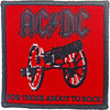 AC/DC - For Those About to Rock Woven Patch